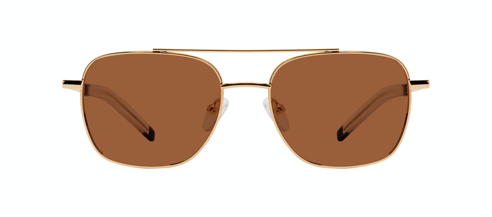 806bfb09fab Affordable Fashion Glasses Aviator Sunglasses Men Drift Gold Front