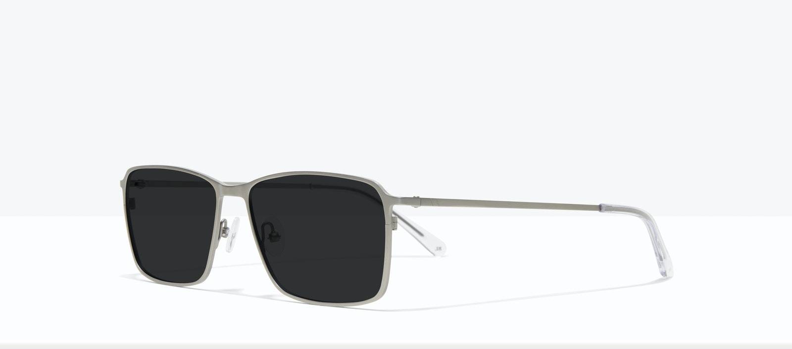 Affordable Fashion Glasses Square Sunglasses Men Drive Silver Tilt