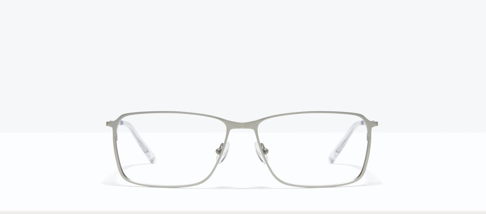Affordable Fashion Glasses Square Eyeglasses Men Drive Silver Front
