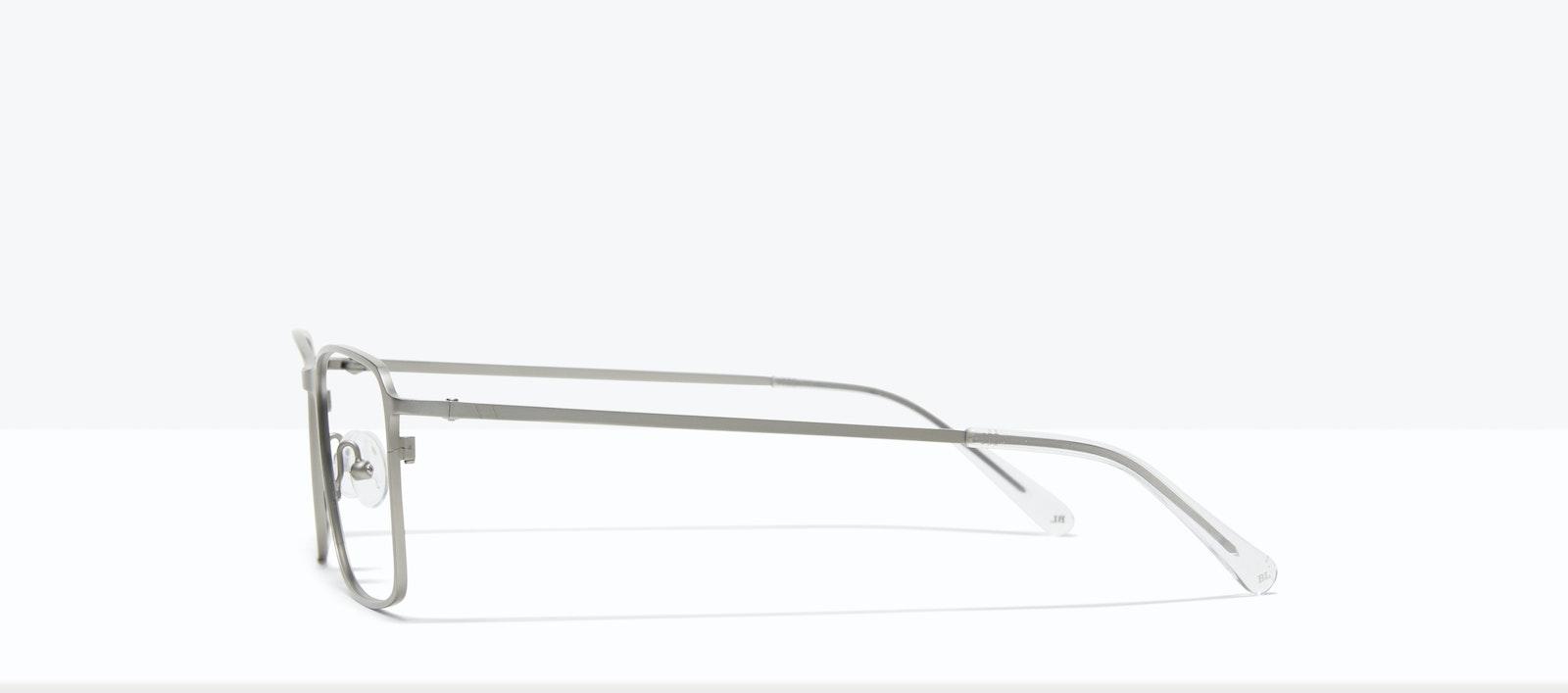 Affordable Fashion Glasses Square Eyeglasses Men Drive Silver Side