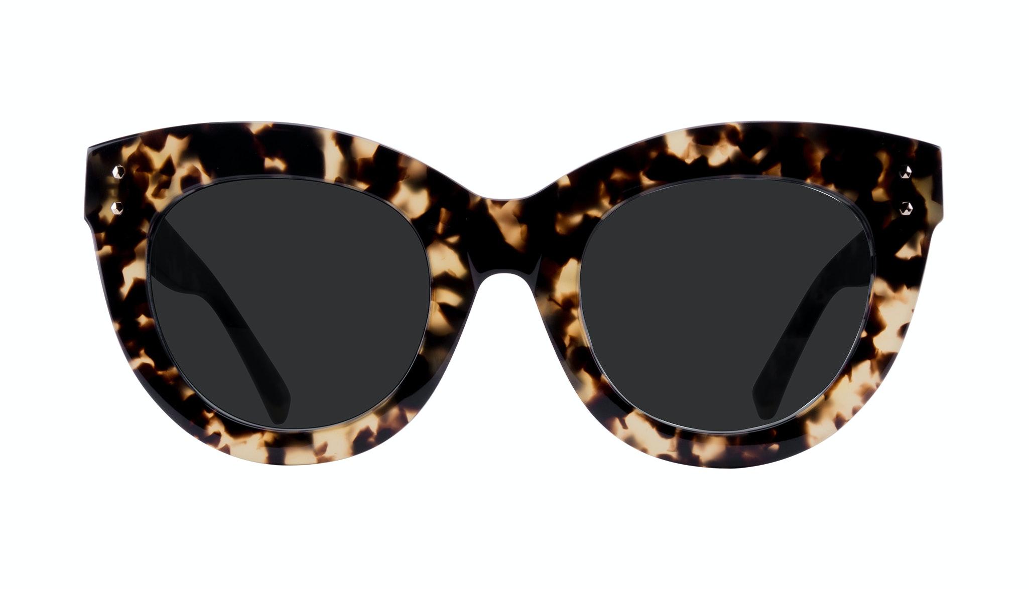 Lunettes tendance Oeil de chat Lunettes solaires Femmes Dusk Tortoise Face