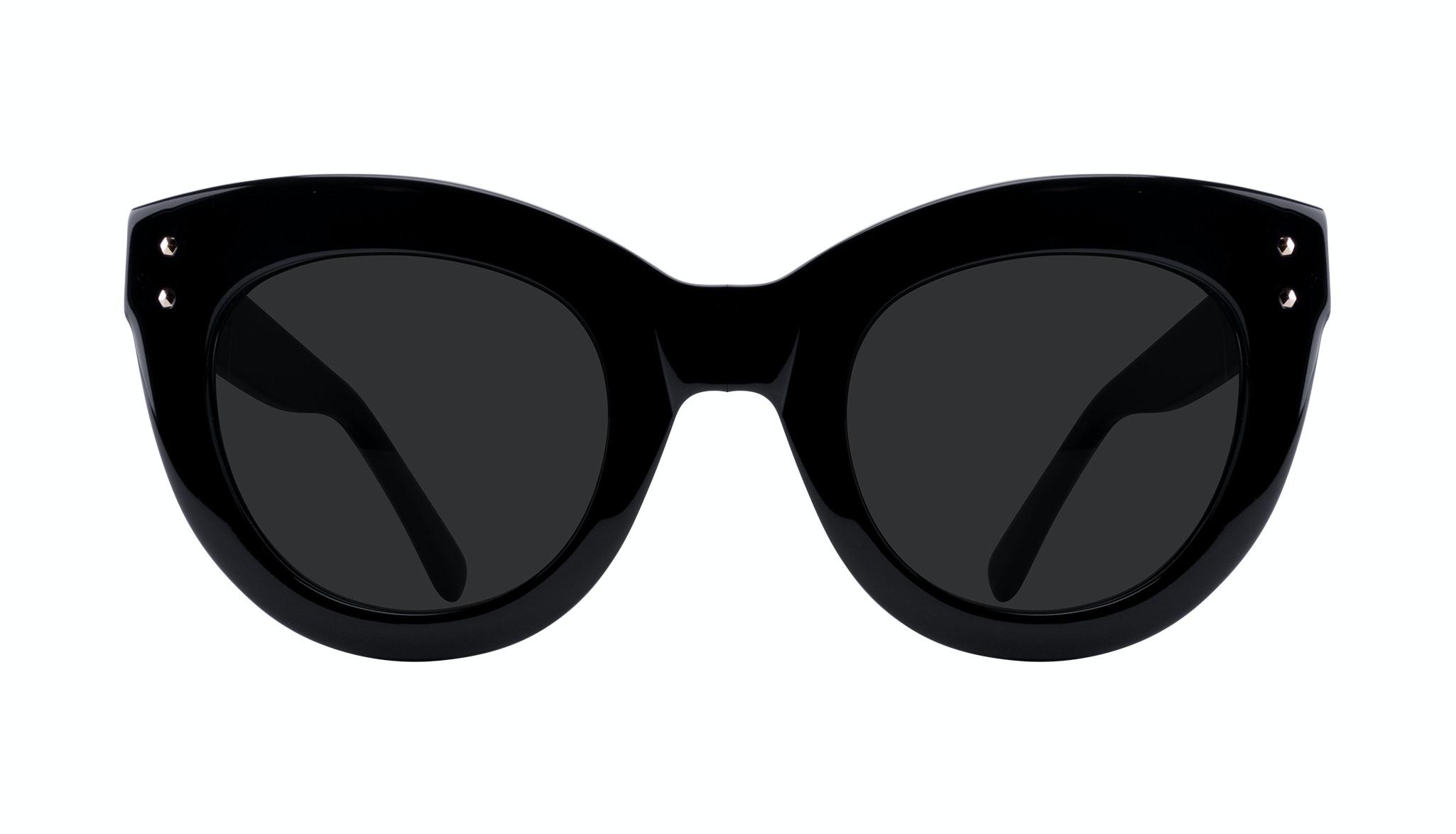 Affordable Fashion Glasses Cat Eye Sunglasses Women Dusk Onyx