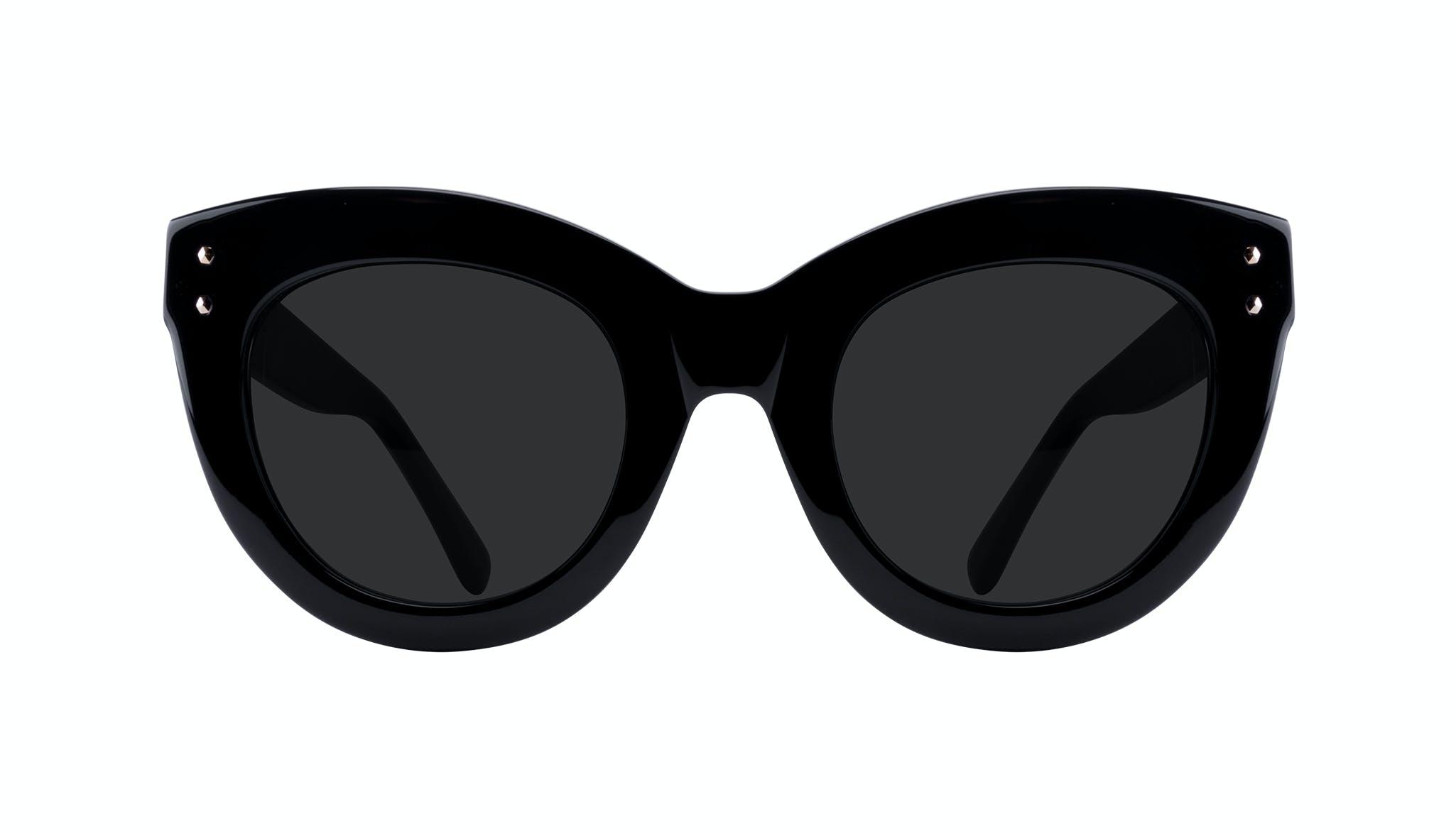 Affordable Fashion Glasses Cat Eye Sunglasses Women Dusk Onyx Front