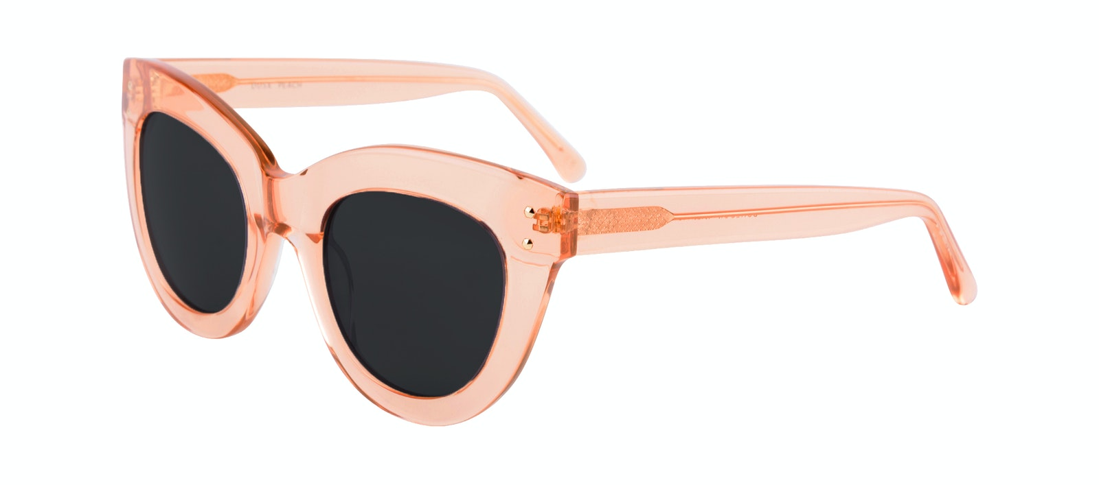 Affordable Fashion Glasses Cat Eye Sunglasses Women Dusk Peach Tilt