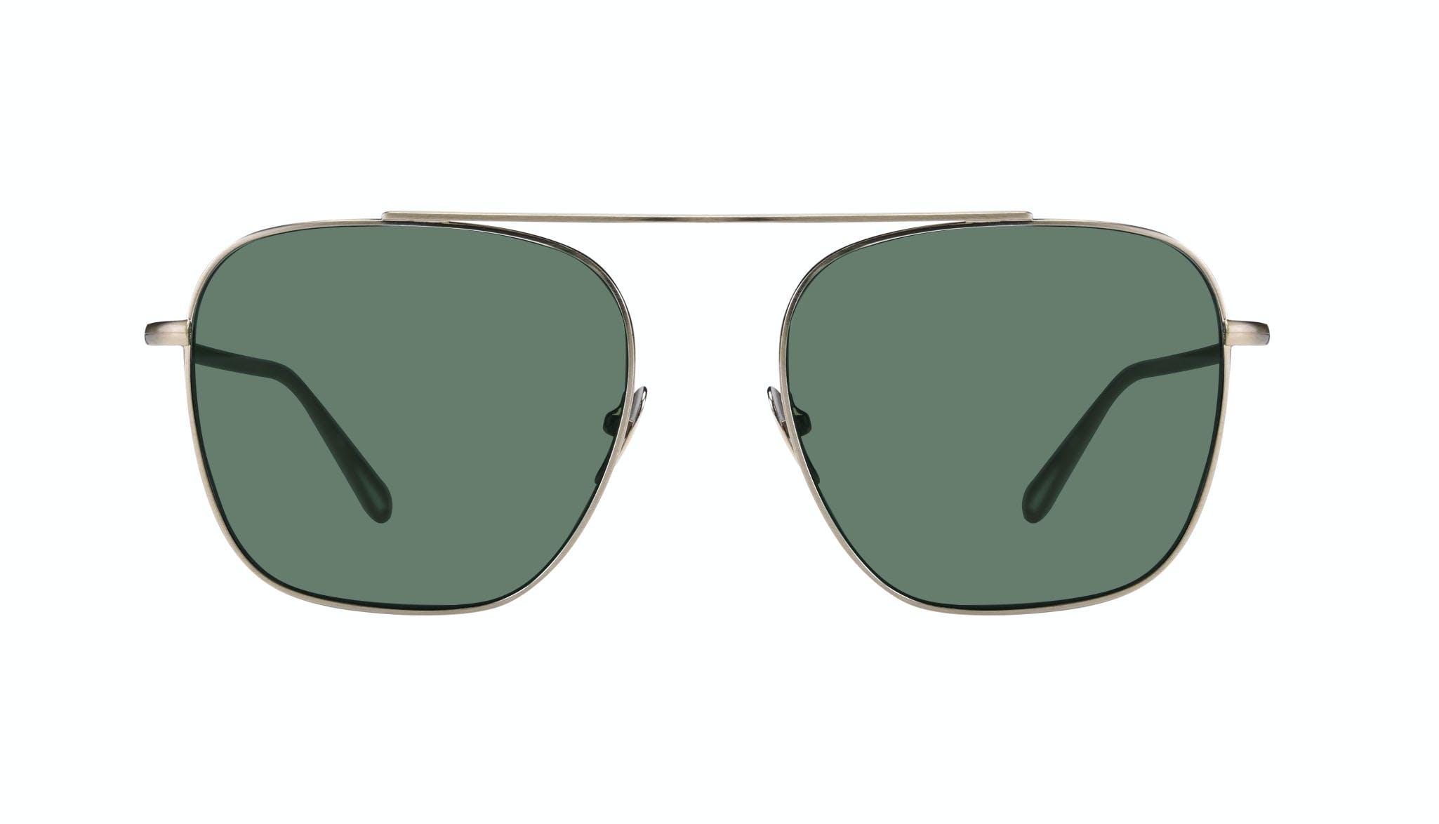 Affordable Fashion Glasses Aviator Sunglasses Men Eagle Brass Front