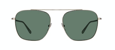 Affordable Fashion Glasses Aviator Sunglasses Men Eagle Brass Front