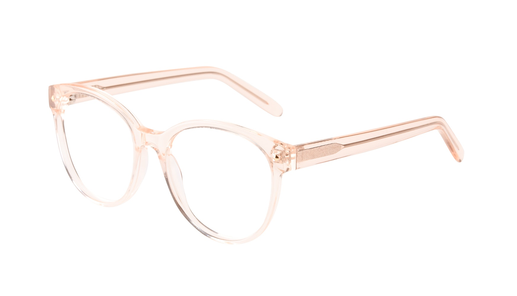 Affordable Fashion Glasses Round Eyeglasses Women Eclipse Blond Tilt