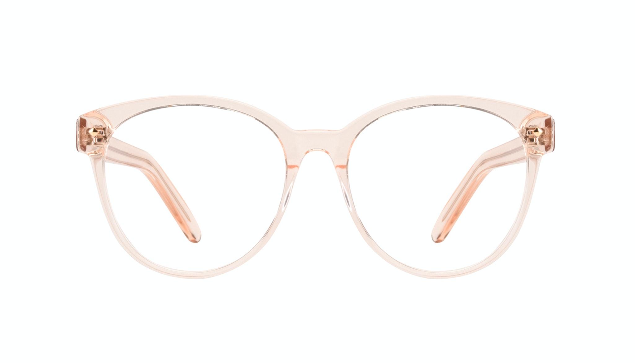 Lunettes tendance Ronde Lunettes de vue Femmes Eclipse Blond