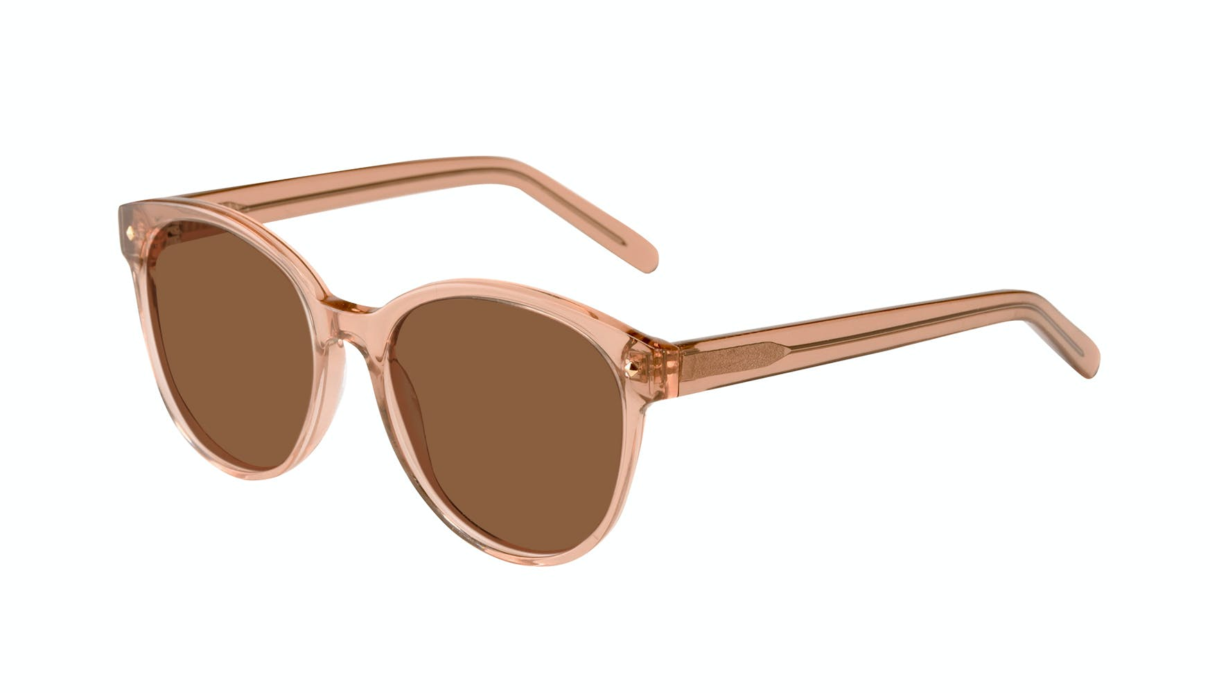 Affordable Fashion Glasses Round Sunglasses Women Eclipse Toffee Tilt