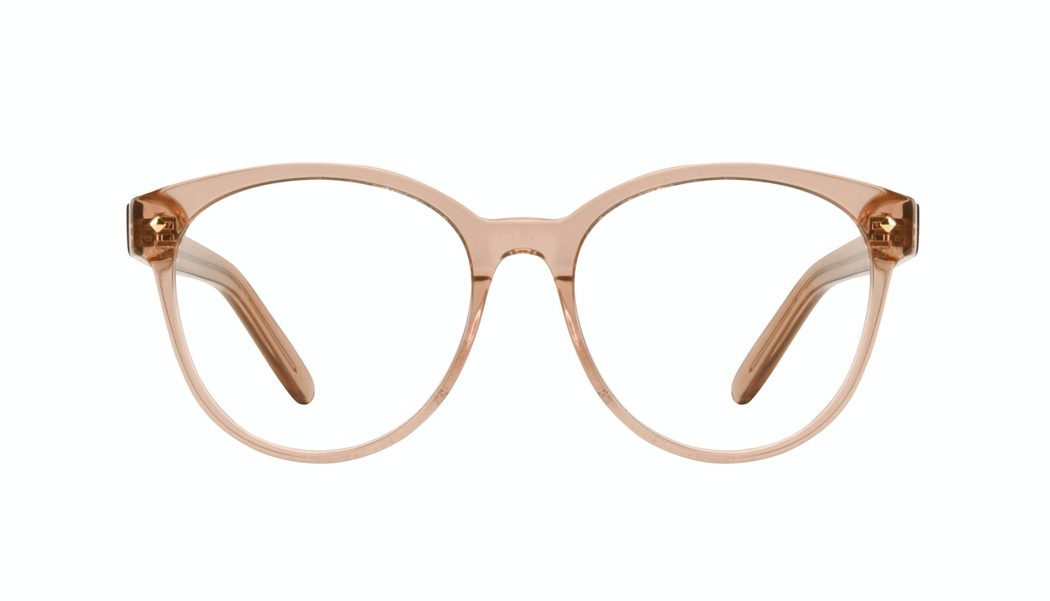 Affordable Fashion Glasses Round Eyeglasses Women Eclipse Toffee