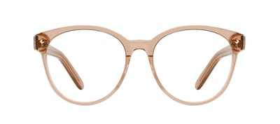Affordable Fashion Glasses Round Eyeglasses Women Eclipse Toffee Front