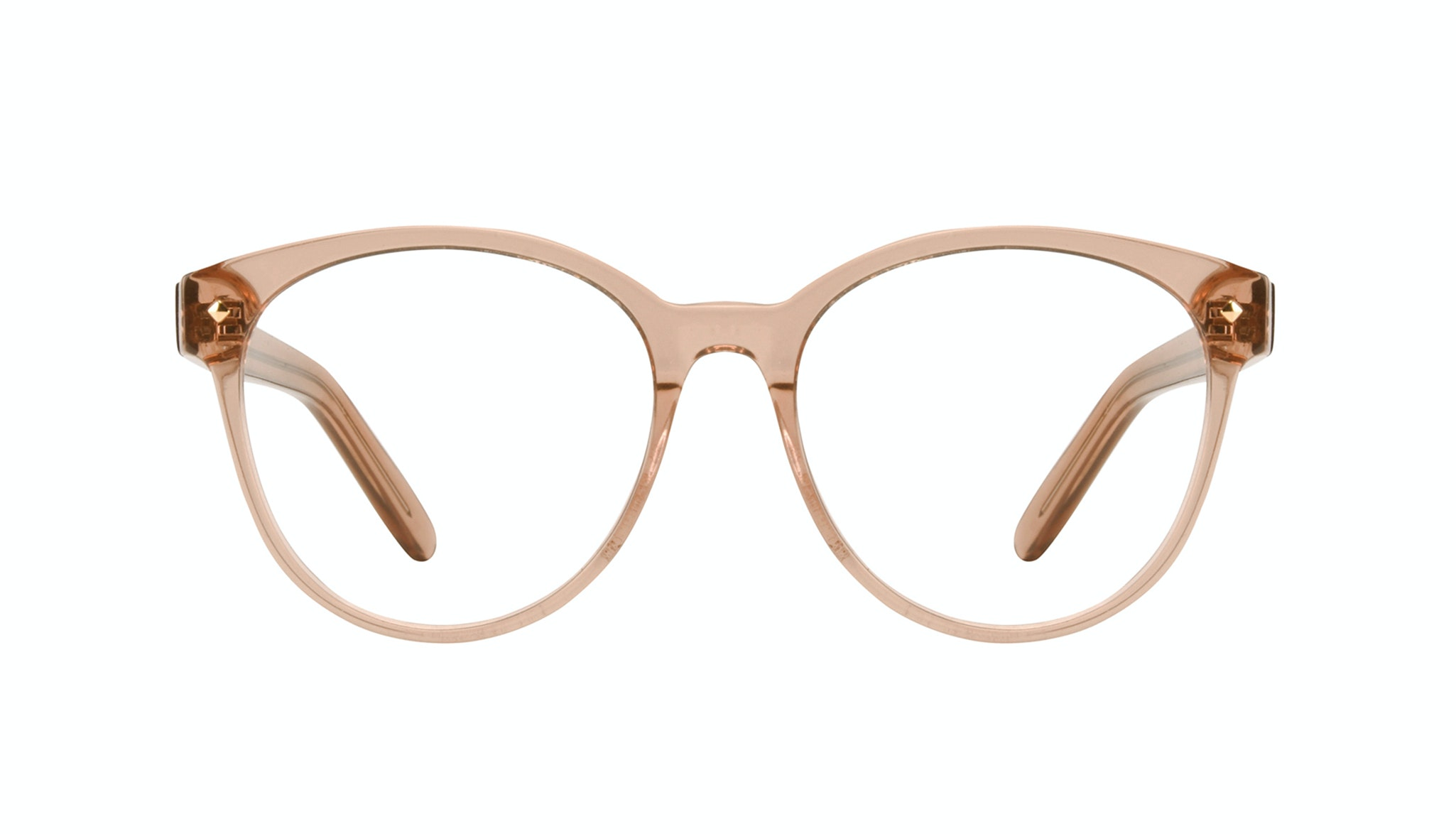 Affordable Fashion Glasses Cat Eye Round Eyeglasses Women Eclipse Toffee Front