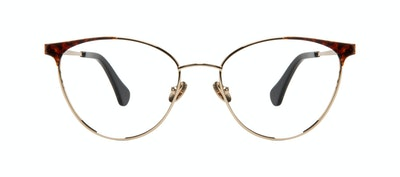 Affordable Fashion Glasses Cat Eye Eyeglasses Women Edgy Gold Tort Front