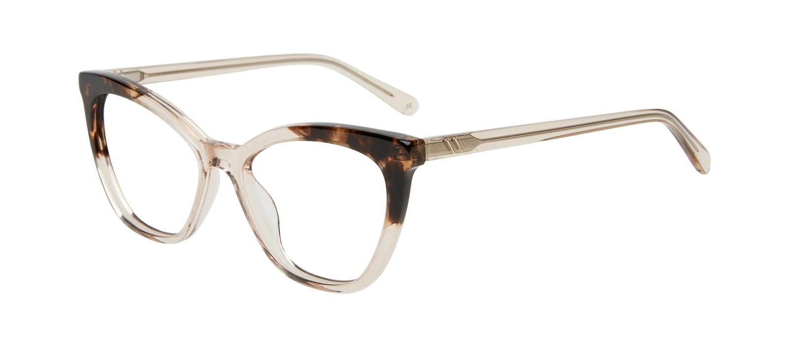 Affordable Fashion Glasses Cat Eye Eyeglasses Women Elan Golden Tortoise Tilt