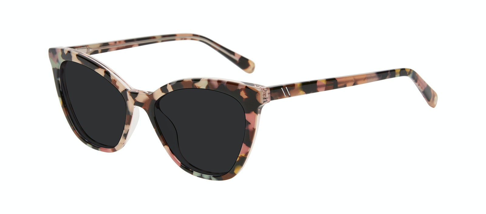 Affordable Fashion Glasses Cat Eye Sunglasses Women Elan Pastel Tort Tilt
