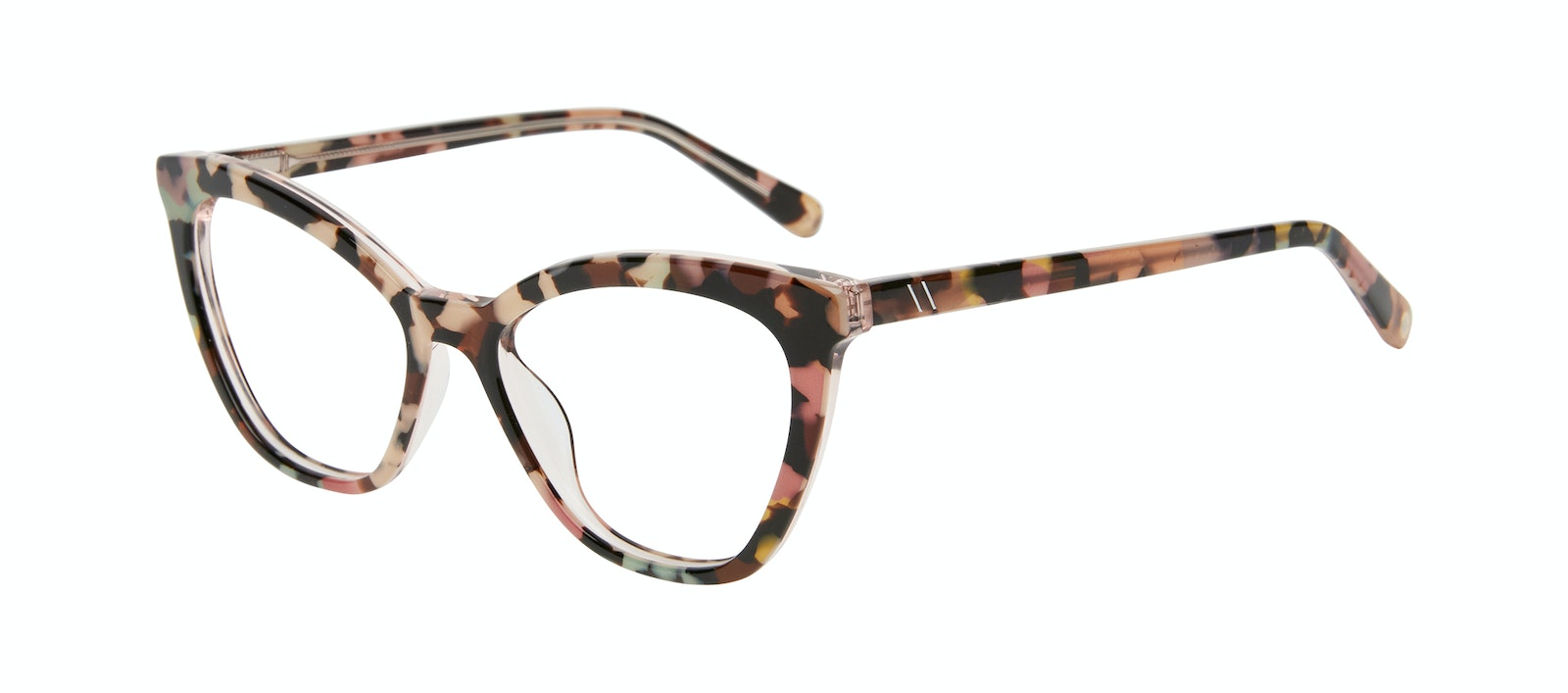 Affordable Fashion Glasses Cat Eye Eyeglasses Women Elan Pastel Tort Tilt