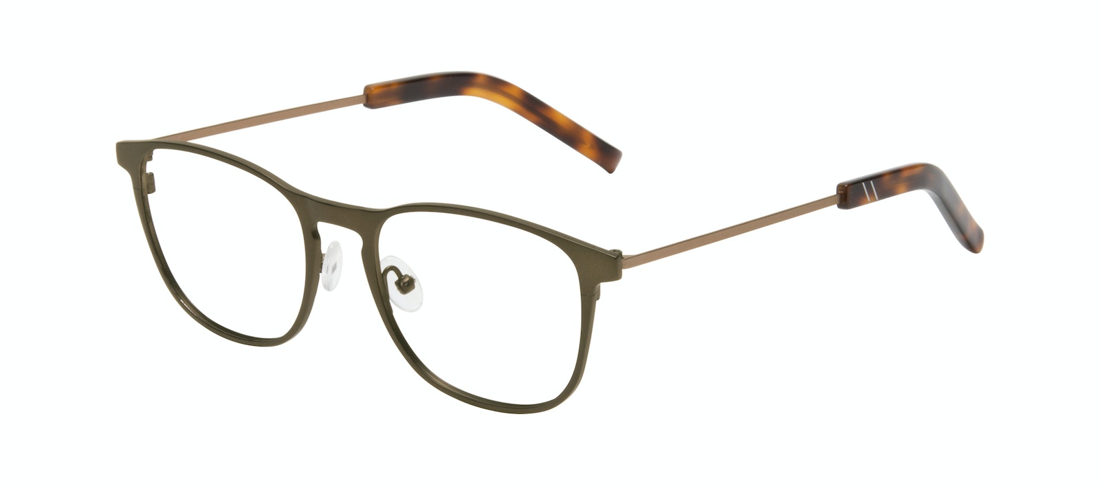 Affordable Fashion Glasses Square Eyeglasses Men Elevate Khaki Tilt