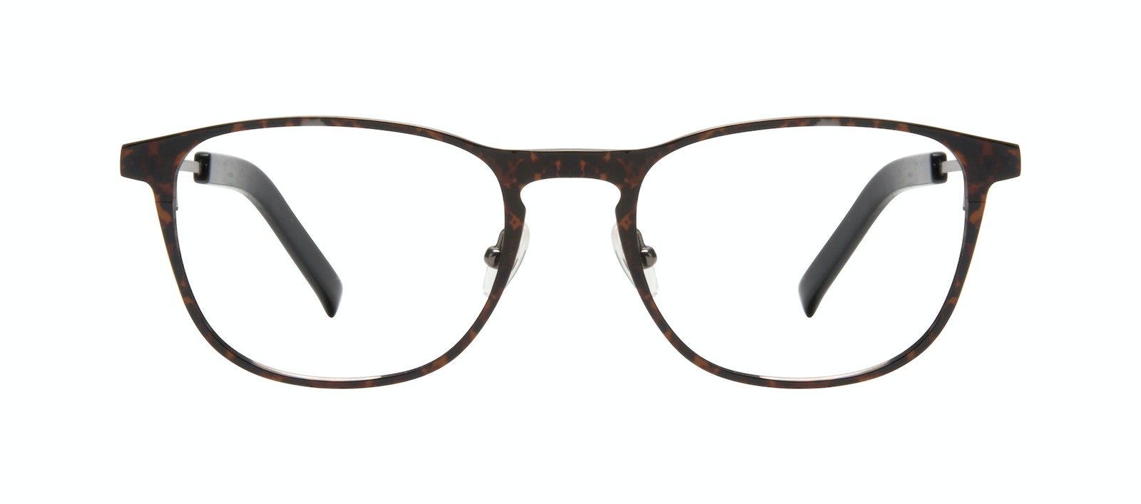 Affordable Fashion Glasses Square Eyeglasses Men Elevate Tortoise Front