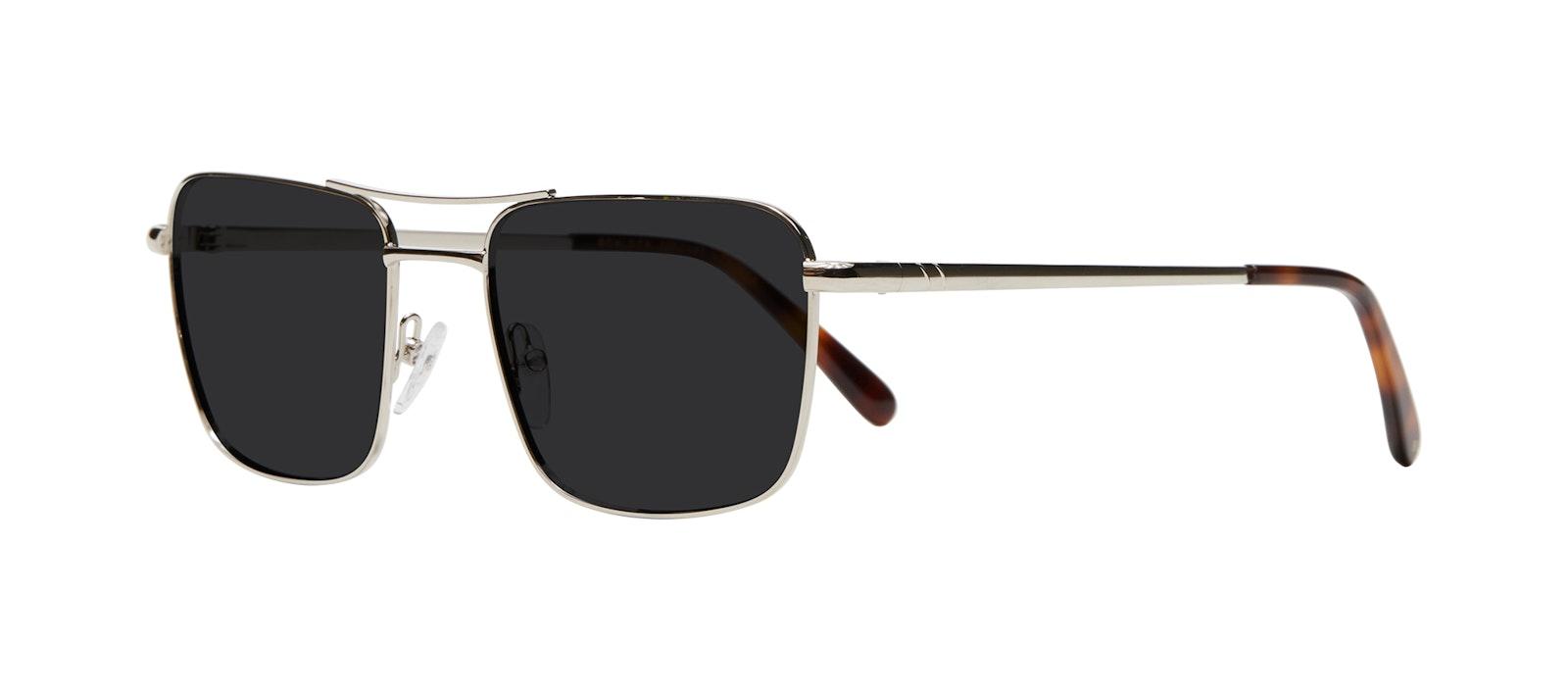 Affordable Fashion Glasses Aviator Sunglasses Men Emerge Silver Tilt