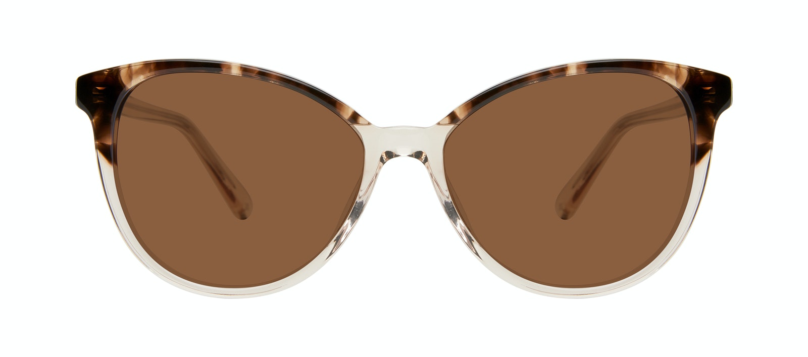 Affordable Fashion Glasses Cat Eye Sunglasses Women Esprit L Golden Tortoise Front