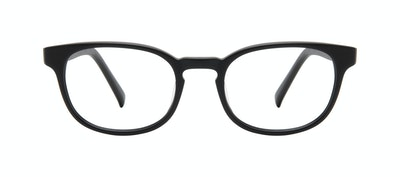 Affordable Fashion Glasses Square Eyeglasses Men Essence Black Matte Front