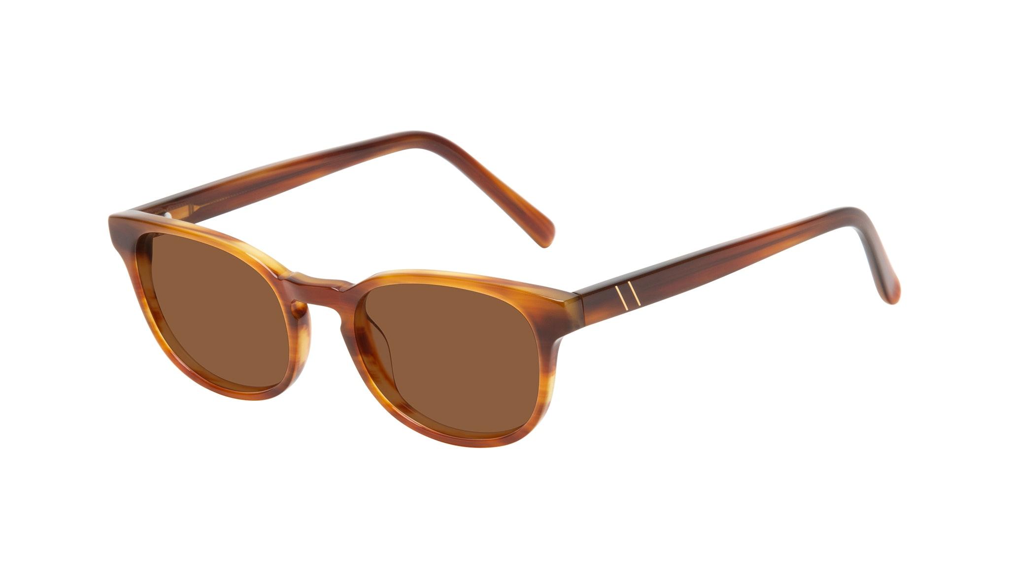 Affordable Fashion Glasses Square Sunglasses Men Essence Havana Tilt