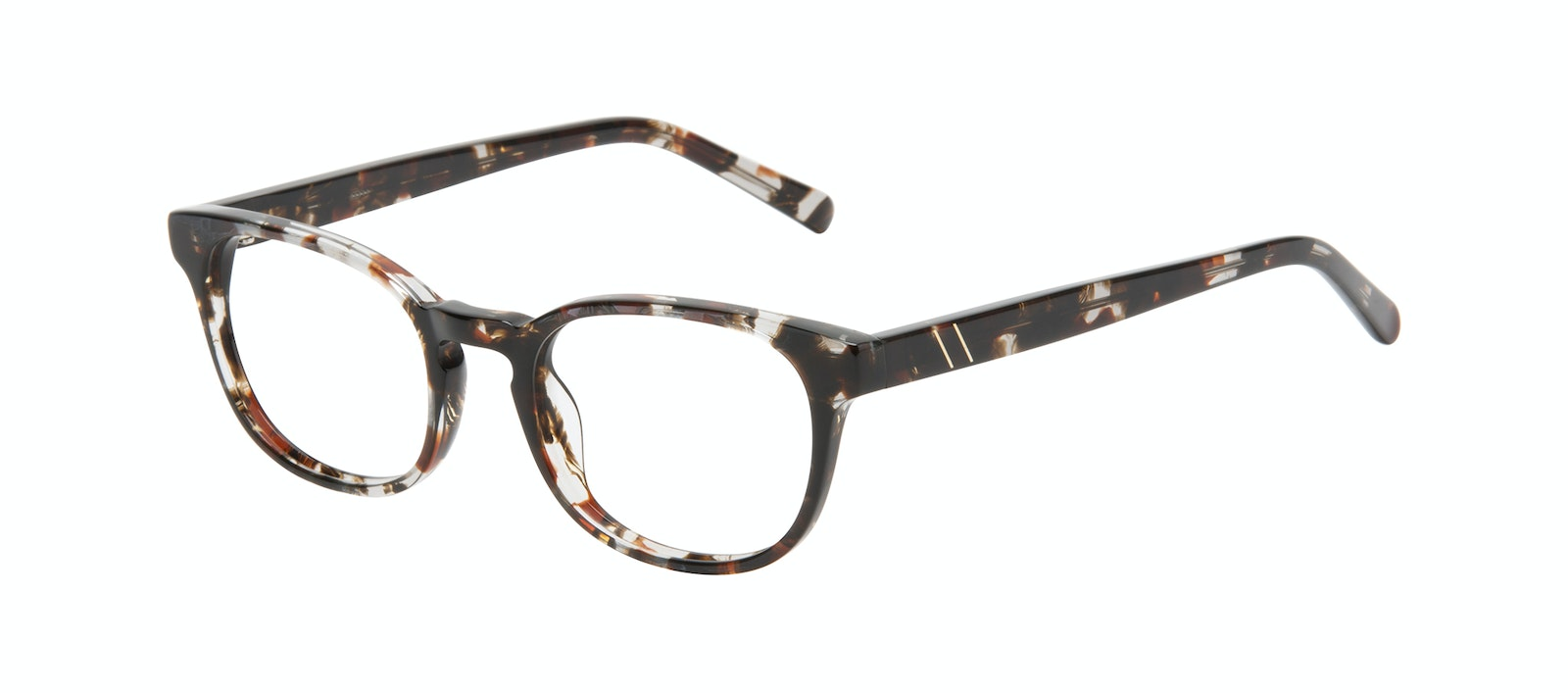 Affordable Fashion Glasses Square Eyeglasses Men Essence Mocha Tort Tilt