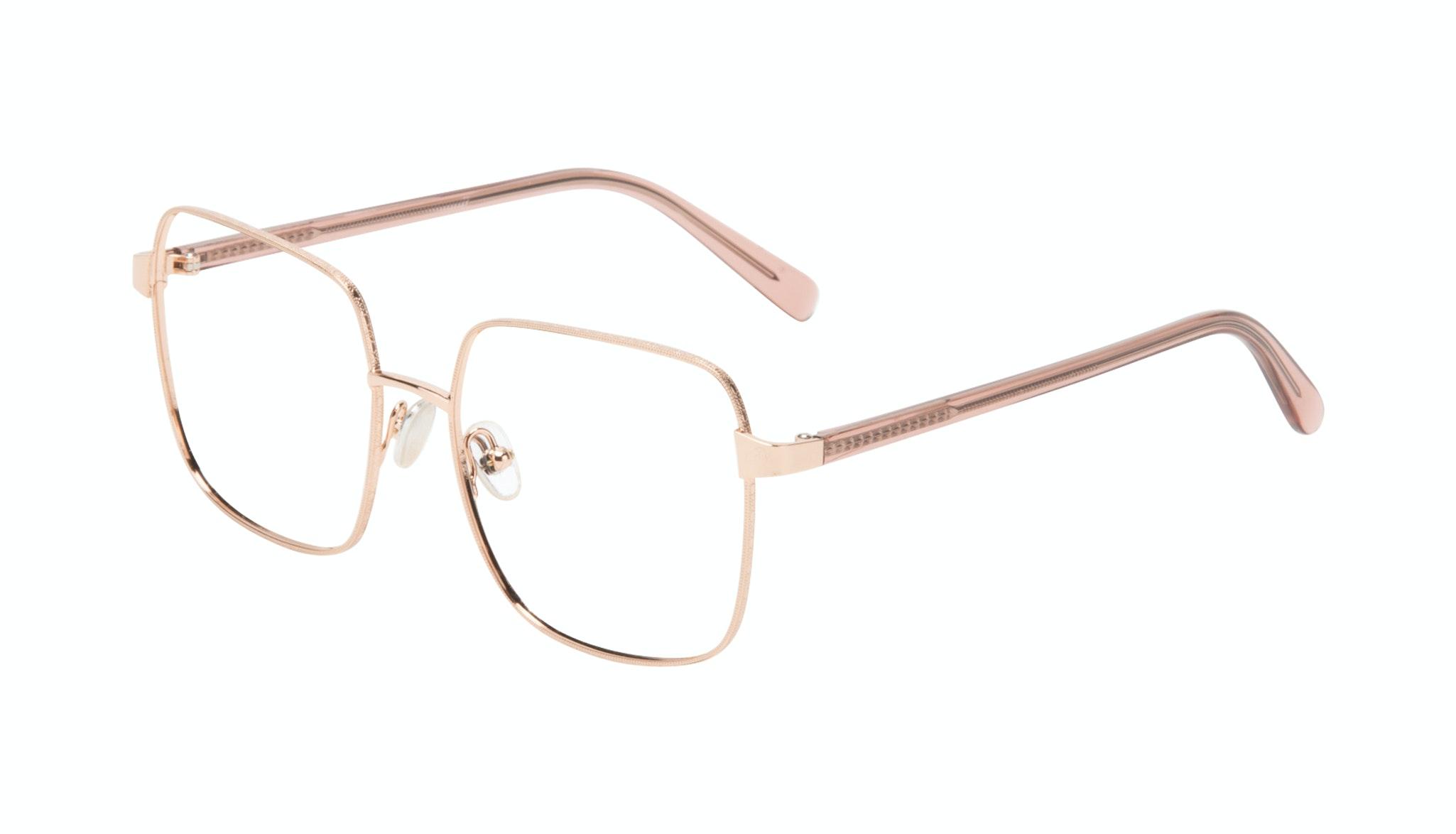 Affordable Fashion Glasses Square Eyeglasses Women Fab Rose Tilt