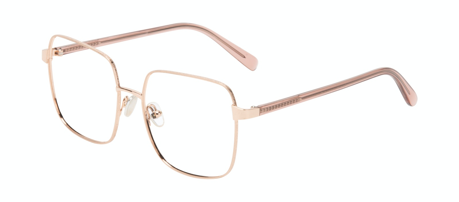 Affordable Fashion Glasses Square Eyeglasses Women Fab Rose Tilt