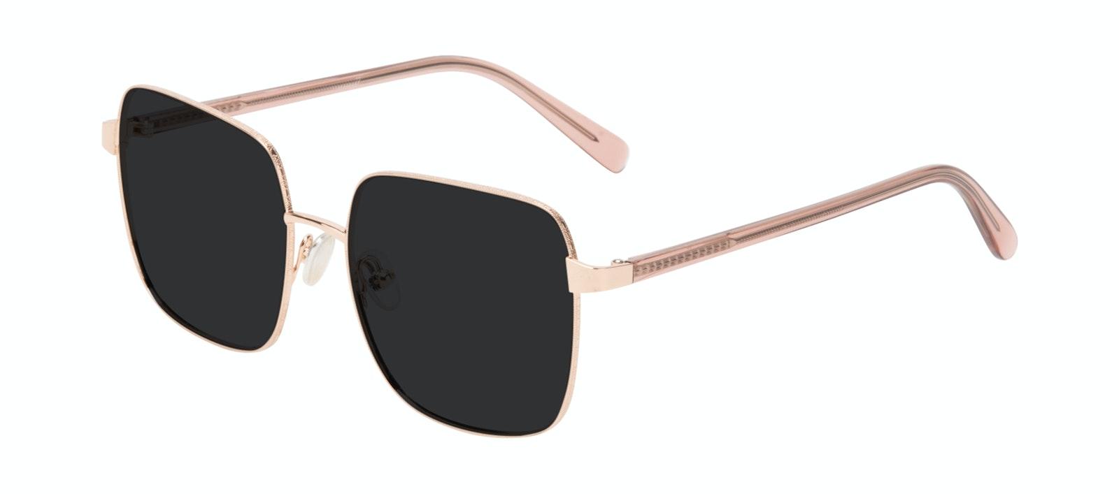 Affordable Fashion Glasses Square Sunglasses Women Fab Rose Tilt