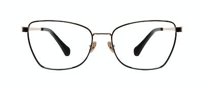 Affordable Fashion Glasses Cat Eye Eyeglasses Women Fancy Deep Gold Front
