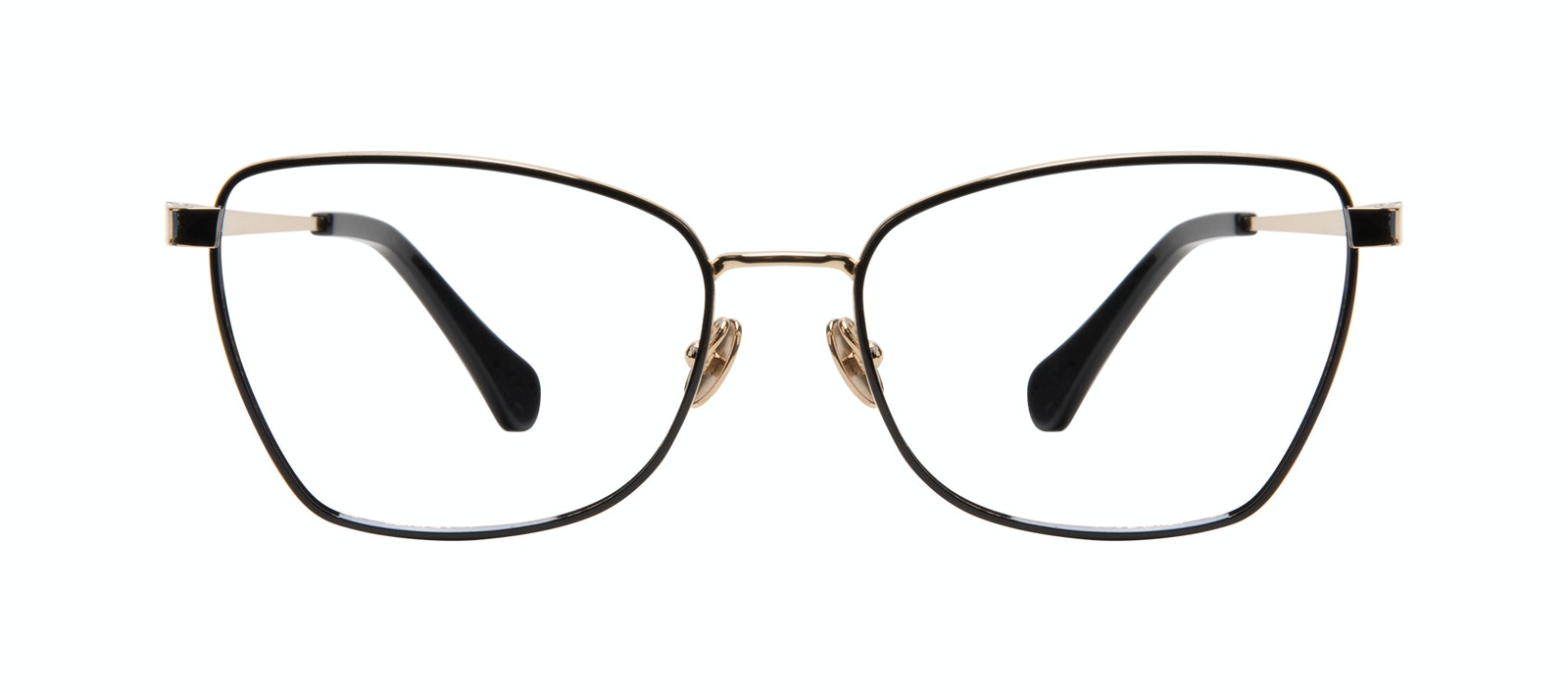 Affordable Fashion Glasses Cat Eye Eyeglasses Women Fancy Deep Gold Front