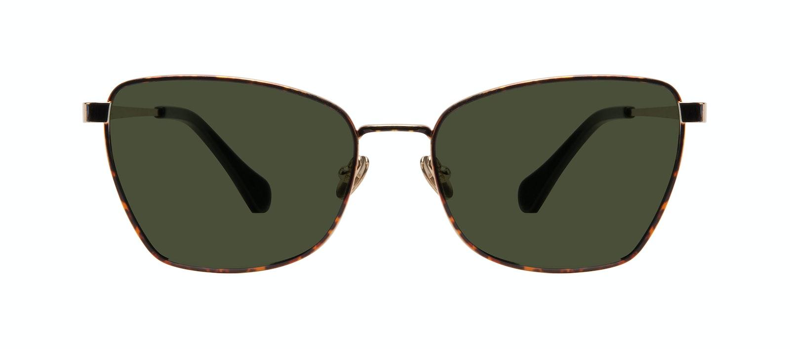 Affordable Fashion Glasses Cat Eye Sunglasses Women Fancy Gold Tort Front
