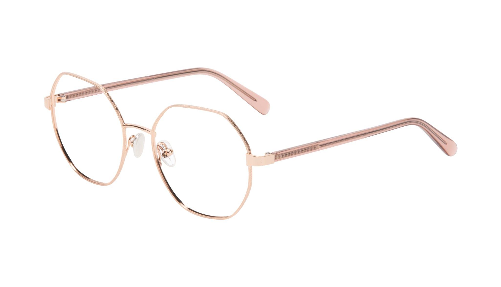 Affordable Fashion Glasses Round Eyeglasses Women Fantasy Rose Tilt