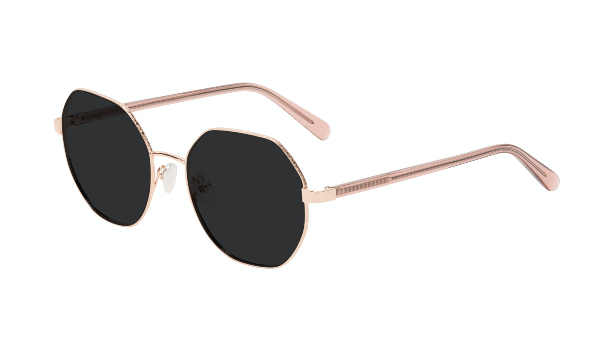 Affordable Fashion Glasses Round Sunglasses Women Fantasy Rose Tilt