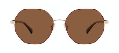 Affordable Fashion Glasses Round Sunglasses Women Fantasy Wine Front