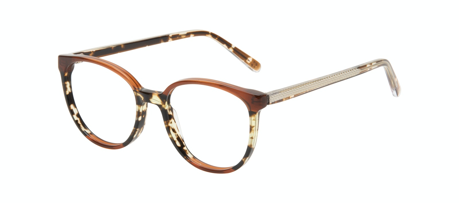 Affordable Fashion Glasses Round Eyeglasses Women Fauna Aurora Tilt