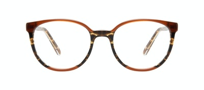 Affordable Fashion Glasses Round Eyeglasses Women Fauna Aurora Front