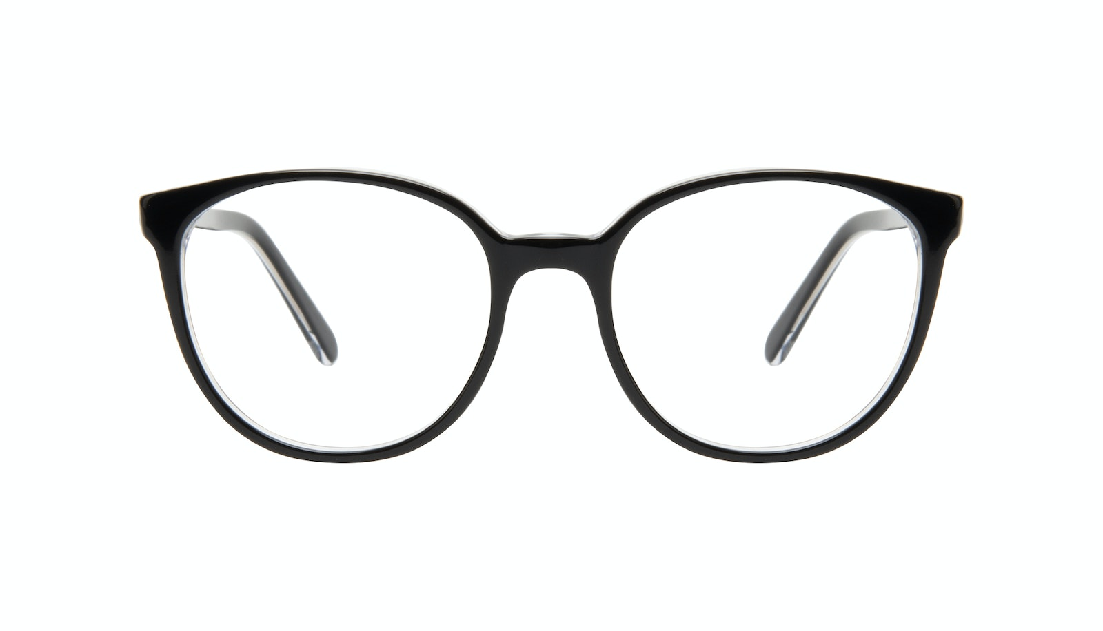 Affordable Fashion Glasses Round Eyeglasses Women Fauna Black Ice