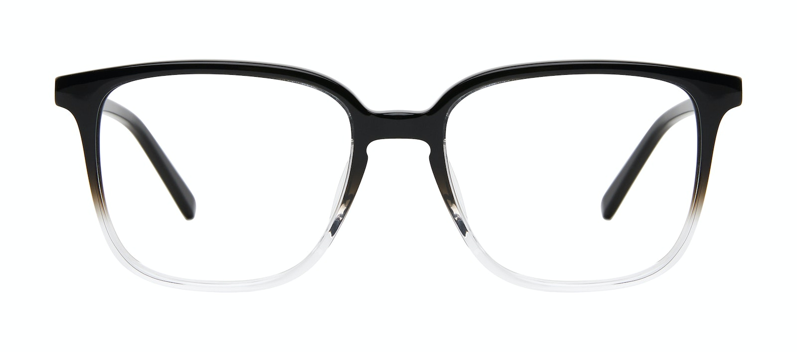 Affordable Fashion Glasses Square Eyeglasses Men Fellow Onyx Clear Front