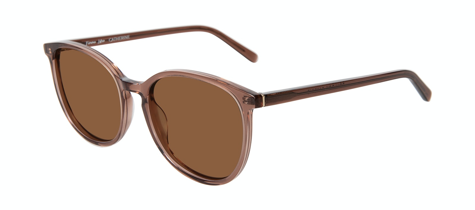 Affordable Fashion Glasses Round Sunglasses Women Femme Libre Catherine Tilt