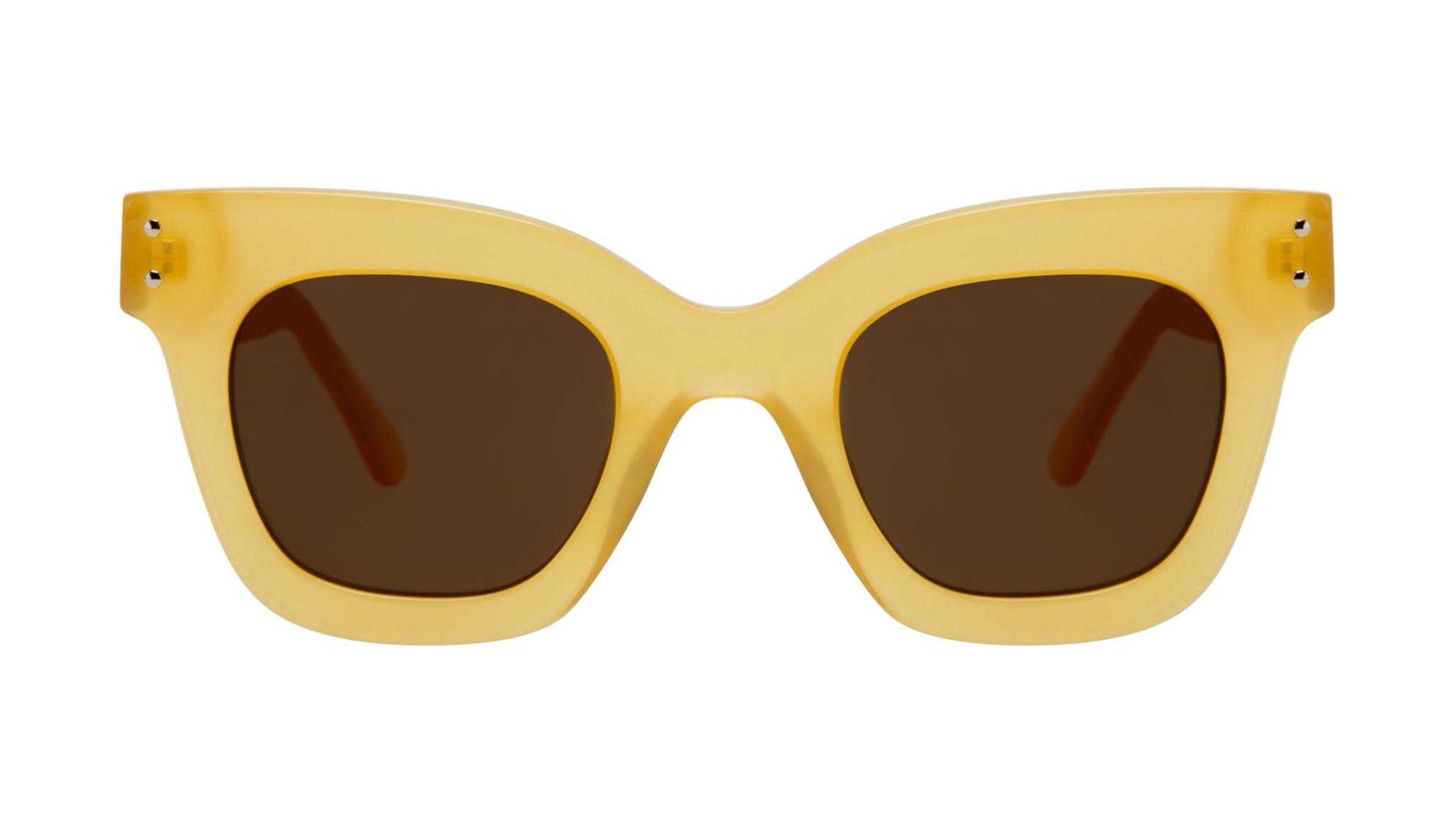 Affordable Fashion Glasses Square Sunglasses Women Fever Lemon