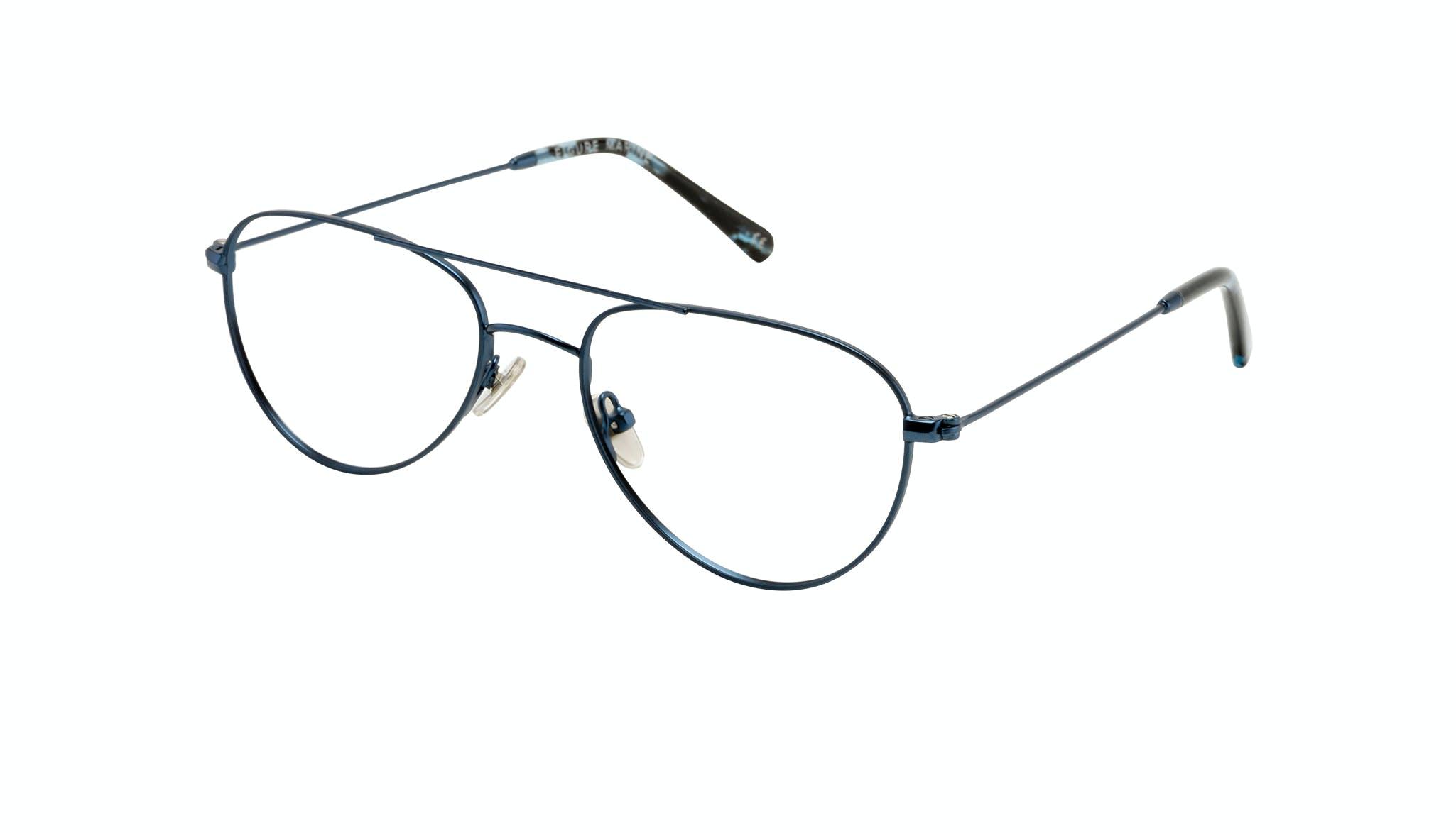 Affordable Fashion Glasses Aviator Eyeglasses Women Figure Marine Tilt