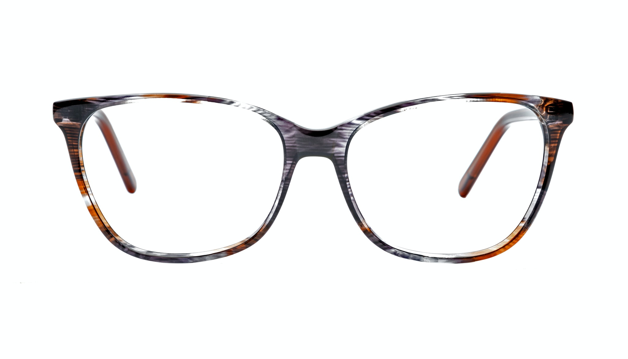 Affordable Fashion Glasses Cat Eye Rectangle Eyeglasses Women Flair Tweed Front
