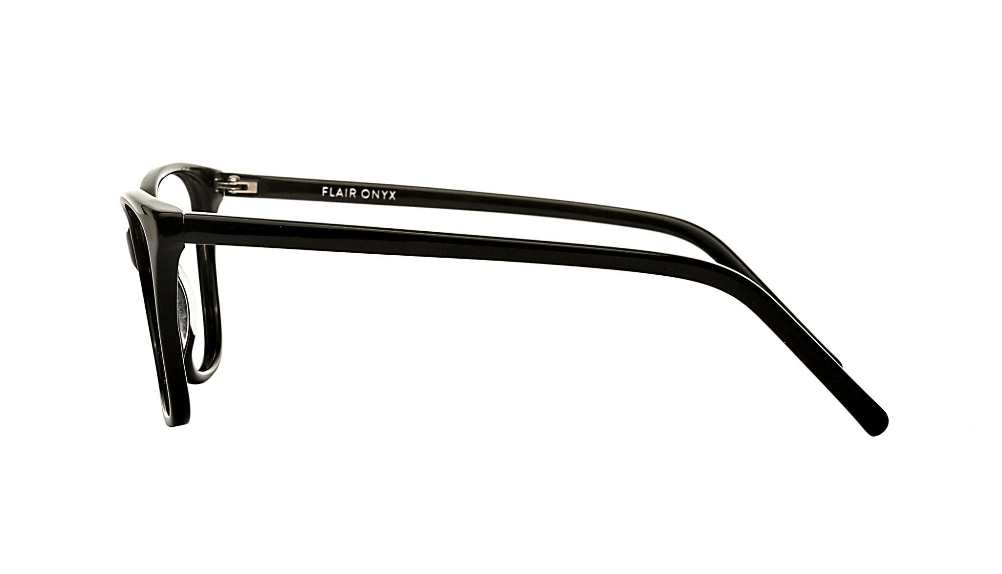Affordable Fashion Glasses Cat Eye Eyeglasses Women Flair Onyx Side