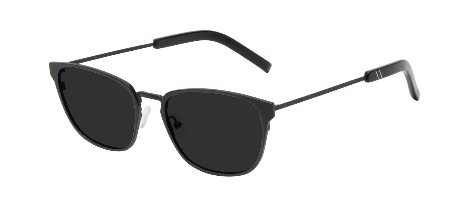 Affordable Fashion Glasses Square Sunglasses Men Flex Onyx Matte Tilt