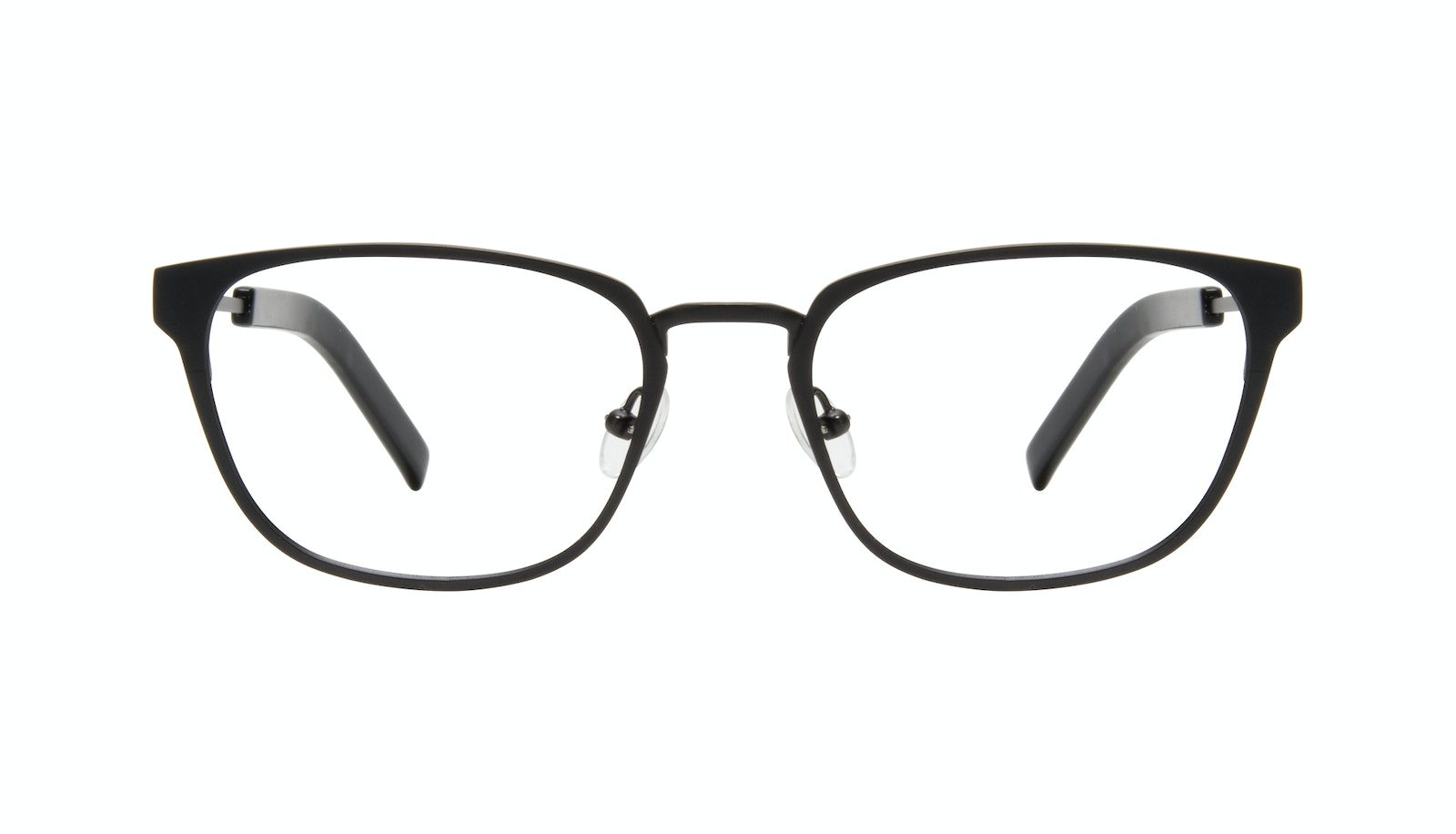 Affordable Fashion Glasses Square Eyeglasses Men Flex Onyx Matte