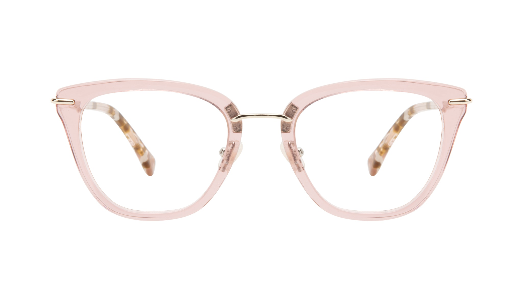 Affordable Fashion Glasses Square Eyeglasses Women Flirt Rose