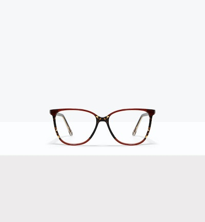 Affordable Fashion Glasses Square Eyeglasses Women Flora Aurora Front