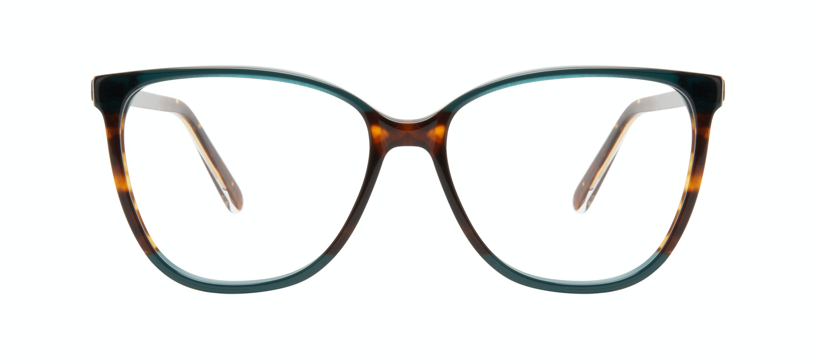 Affordable Fashion Glasses Square Eyeglasses Women Flora Pine Front